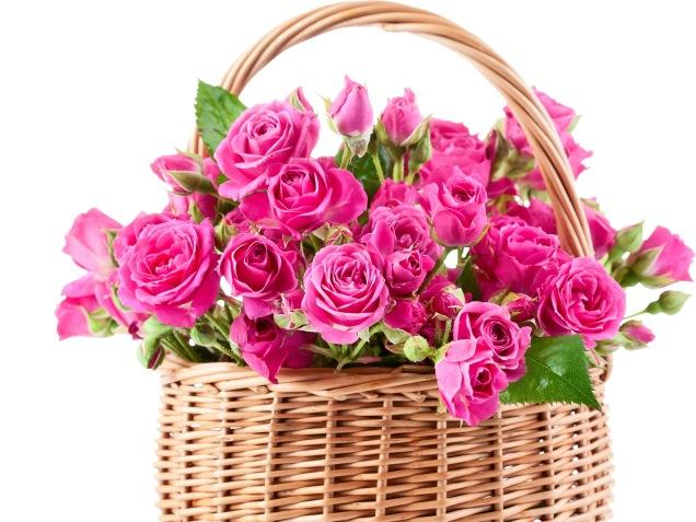 pink-flowers-basket-wallpaper-1