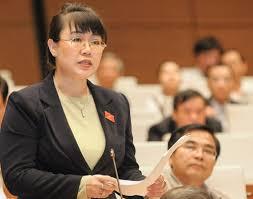 Không công nhận tư cách đại biểu Quốc hội với bà Nguyễn Thị Nguyệt Hường -  VnExpress